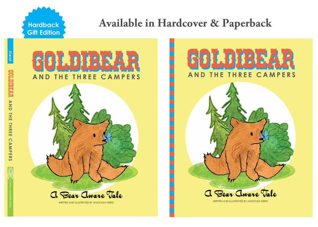 goldibear a bear aware children's book