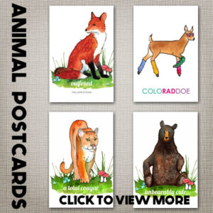 Animal Postcards