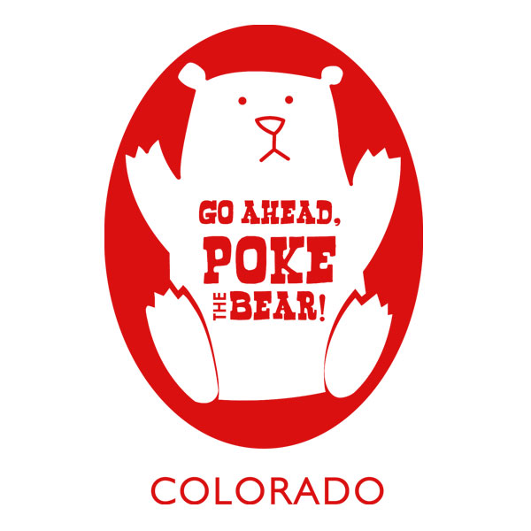 Go Ahead Poke the Bear in RED