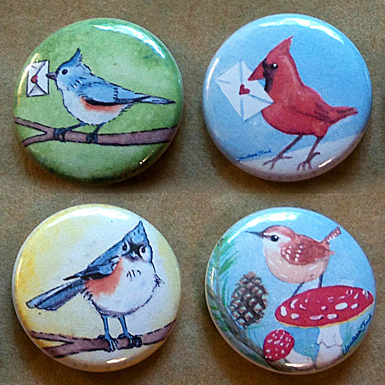 Little Bird Collection - 4 designs