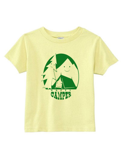 toddler shirt happy camper