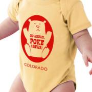 butter baby bodysuit - Poke the Bear