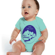 infant baby bodysuit cry a river onesie