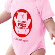pink baby bodysuit - Poke the Bear