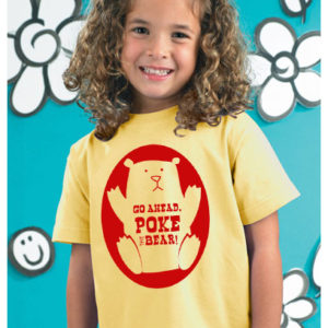 Poke the bear toddler shirt